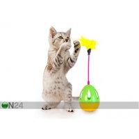 Kehittävä lelu kissoille, muna sulilla, Hansashop