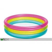 Lasten uima-allas Rainbow Ø 86 cm, Intex