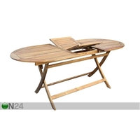 Jatkettava puutarhapöytä TOLEDO 85x140-180 cm, SI