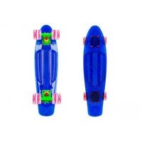 "Penny board WORKER Transpy 400 22"" with Light Up Wheels, Worker"