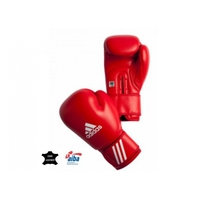 Nyrkkeilyhanskat adidas AIBA punaiset