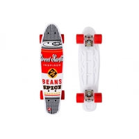 Rullalauta Penny Board POP BOARD Souper Black Dot Street Surfing, TC