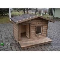 Lämpöeristetty koirankoppi terassilla BÖSE, Koerakuut
