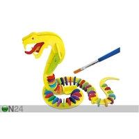 3D palapeli VÄRIKÄS KÄÄRME, Gerardo`s Toys