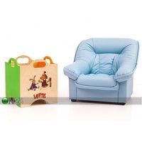 Lasten nojatuoli Mini Spencer + lelulaatikko Lotte, VR