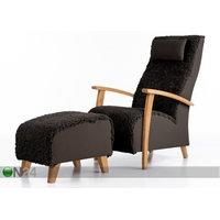 Nojatuoli aidolla lampaannahalla Wiivi + rahi, Võru Empak