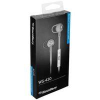 BlackBerry Original mustekasetti Stereo Headset WS-430 valkoinen