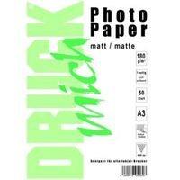 Druck Mich Photo Paper A3 matta 180g x 50 arkkia (1,42 kg)