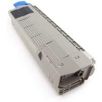 Laserkasetti korvaava OKI 44315308, C610 musta 8000 sivua Mustekasetti.com
