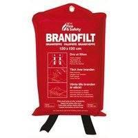 Nexa Fire & Safety Sammutuspeite 120x120 cm Punainen