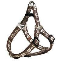 Trixie Modern Art One Touch Dog Harness Coffee