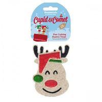 Cupid & Comet Paw Licking Festive Dog Treat