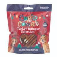 Cupid & Comet Turkey Treats Bumper Selection Pack For Dogs (Pack of 6)