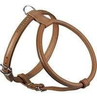 Hunter Round And Soft Elk Leather Dog Harness