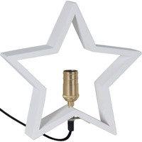 Star Trading Tähti Lysekil E14 28x5x30 cm Valkoinen