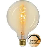 Star Trading LED-Lampa A+, G125 E27 Spiral Amber