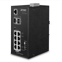 Planet IGS-4215-4P4T2S 8xGiga @ 4xPoE+, 2x SFP -40...+75C Industrial Switch SNMP