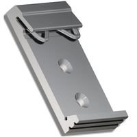 NetSys Din Rail Plate Type B for NV-202 W25mm