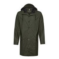 Long Jacket Sadevaatteet Vihreä Rains