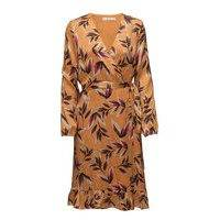 Orangina Wrap Dress Hs18 Lyhyt Mekko Oranssi Gestuz