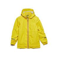 Bambi Kids Jkt Outerwear Rainwear Jackets Keltainen Didriksons