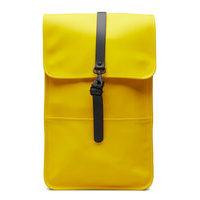 Backpack Reppu Laukku Keltainen Rains