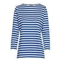 Ilma Shirt T-shirts & Tops Long-sleeved Sininen Marimekko
