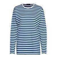 PitkäHiha Shirt T-shirts & Tops Long-sleeved Sininen Marimekko