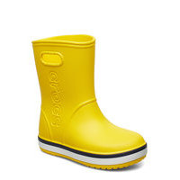 Crocband Rain Boot K Kumisaappaat Keltainen Crocs