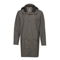 Long Jacket Sadevaatteet Harmaa Rains