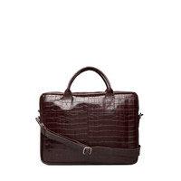 Piemonte Working Bag Leslie 15' Tietok Laukku Läppärilaukku Laukku Ruskea Adax