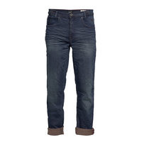 Jeans - Noos Rock Fit - Zip Fly Farkut Sininen Blend