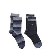 Th Kids Basic Stripe Sock 2p Night & Underwear Socks Sininen Tommy Hilfiger