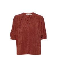 Karloiw Blouse Blouses Short-sleeved Punainen InWear