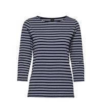 Ladies Blouse, Virna T-shirts & Tops Long-sleeved Sininen Nanso