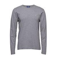The Original Ls T-Shirt T-shirts Long-sleeved Harmaa GANT