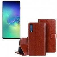 Samsung Galaxy S10+ flip cover -suojakuori - Musta