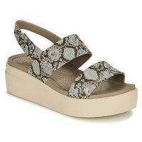 Sandaalit Crocs CROCS BROOKLYN LOW WEDGE W