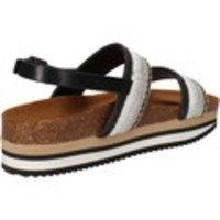 Sandaalit 5 Pro Ject sandali beige tessuto nero AC590