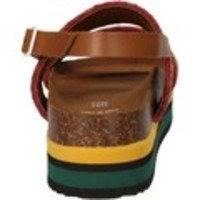 Sandaalit 5 Pro Ject sandali giallo tessuto verde AC591