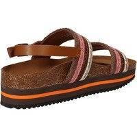 Sandaalit 5 Pro Ject sandali rosa tessuto marrone AC592