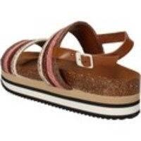 Sandaalit 5 Pro Ject sandali marrone tessuto rosa AC593