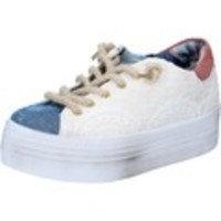 Kengät 2 Stars sneakers beige tessuto blu BZ523
