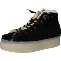 Tennarit 2 Stars sneakers nero velluto pelliccia AE614