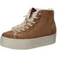 Tennarit 2 Stars sneakers marrone camoscio pelliccia AE615