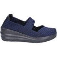 Naisten kengät Cristin ballerine blu tessuto BX630