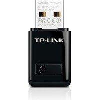 TP-LINK langaton verkkokortti USB 300Mbps 802.11b/g/n musta
