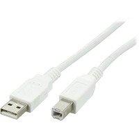 DELTACO USB 2.0 kaapeli A u - u B u 2m valk