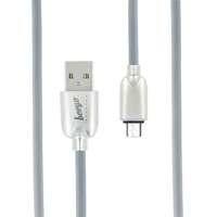 Beeyo Trendy kestävä design micro USB kaapeli - Harmaa