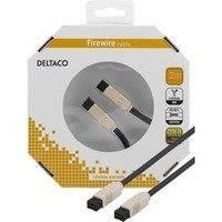 DELTACO Firewire 800 -kaapeli 9-pin u - 9-pin u 2m